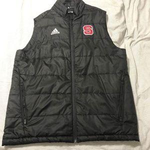 NC State adidas Padded Vest
